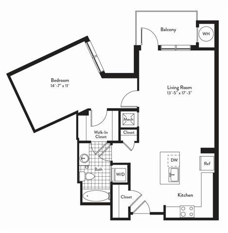Md gaithersburg cadenceatcrown p0235305 1bedroomsinterlude 2 floorplan