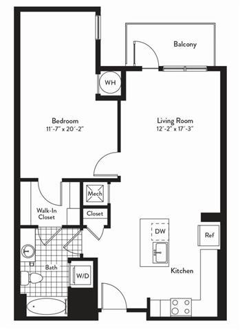 Md gaithersburg cadenceatcrown p0235305 1bedroomswaltz 2 floorplan