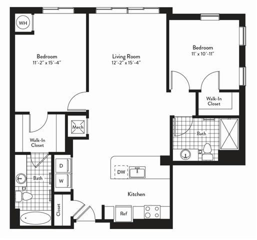 Md gaithersburg cadenceatcrown p0235305 2bedroomsoverture 2 floorplan
