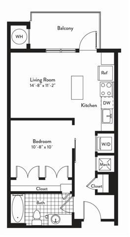 Md gaithersburg cadenceatcrown p0235305 studiotempo 2 floorplan