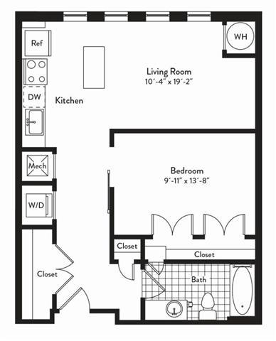 Md gaithersburg cadenceatcrown p0235305 studiotreble 2 floorplan