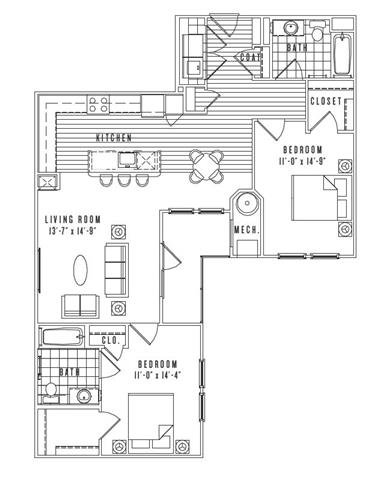 Ny patchogue newvillageatpatchogue p0235311 2bb11 2 floorplan