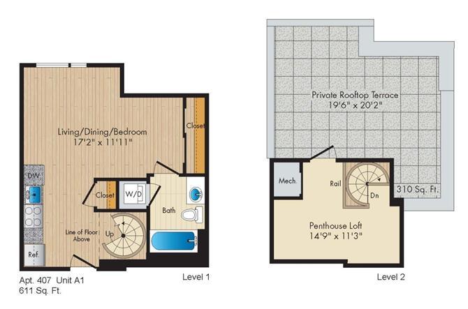 Dc washington allegro p0238305 stylea1penthouse 2 floorplan