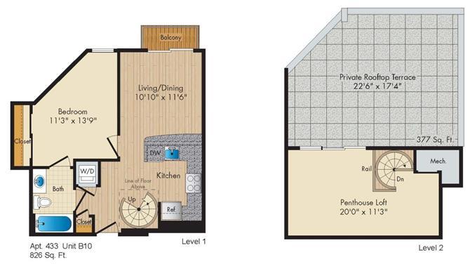 Dc washington allegro p0238305 styleb10penthouse 2 floorplan