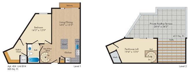 Dc washington allegro p0238305 styleb14penthouse 2 floorplan
