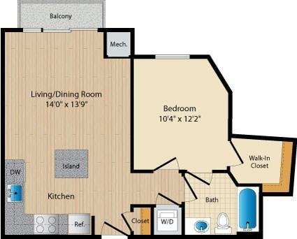 Dc washington allegro p0238305 styleb16 2 floorplan