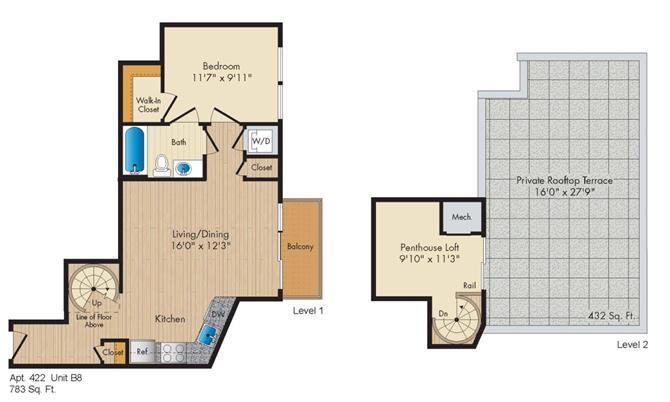 Dc washington allegro p0238305 styleb8penthouse 2 floorplan