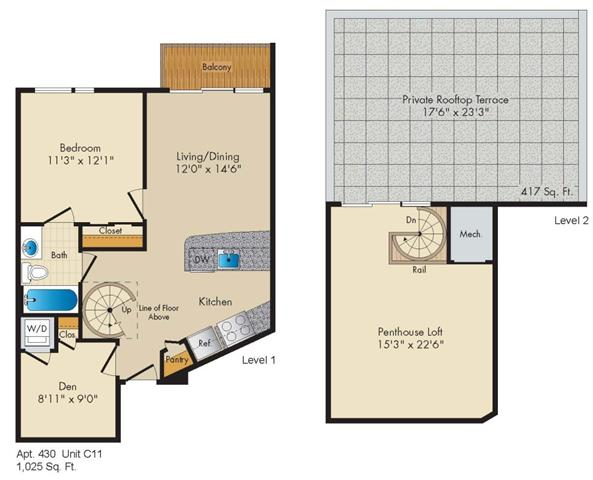 Dc washington allegro p0238305 stylec11penthouse 2 floorplan