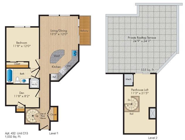 Dc washington allegro p0238305 stylec13penthouse 2 floorplan