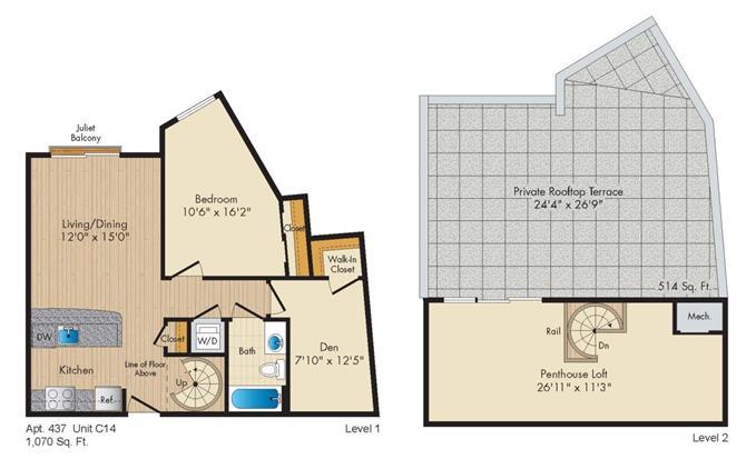 Dc washington allegro p0238305 stylec14penthouse 2 floorplan