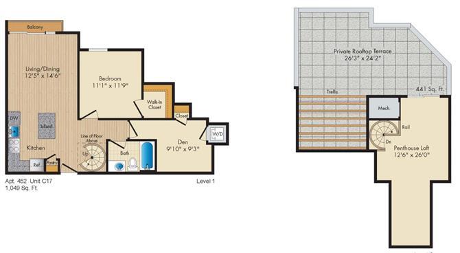 Dc washington allegro p0238305 stylec17penthouse 2 floorplan