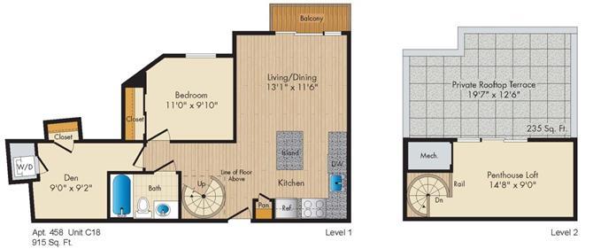 Dc washington allegro p0238305 stylec18penthouse 2 floorplan