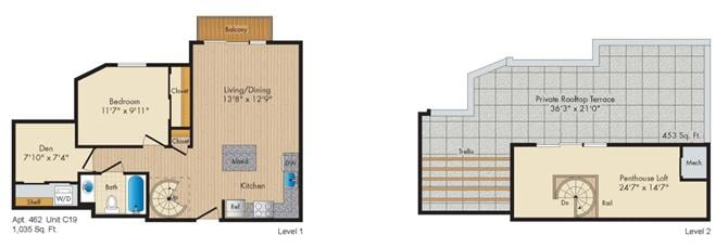 Dc washington allegro p0238305 stylec19penthouse 2 floorplan