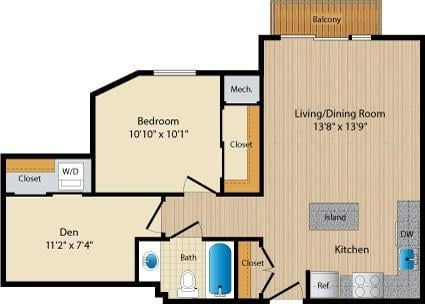 Dc washington allegro p0238305 stylec19 2 floorplan