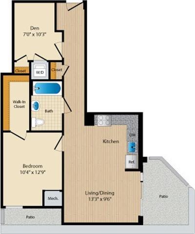 Dc washington allegro p0238305 stylec25 2 floorplan