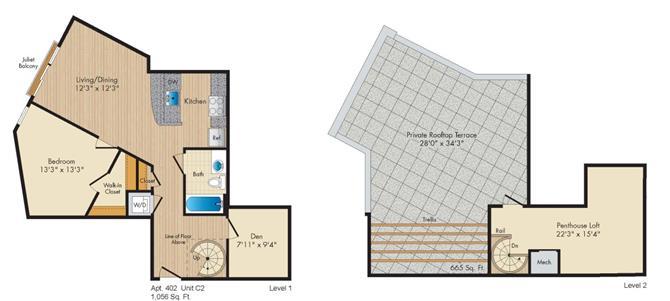 Dc washington allegro p0238305 stylec2penthouse 2 floorplan