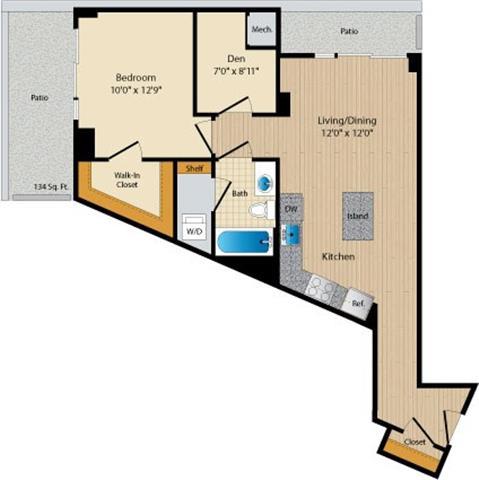 Dc washington allegro p0238305 stylec32 2 floorplan