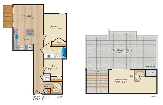 Dc washington allegro p0238305 stylec3penthouse 2 floorplan