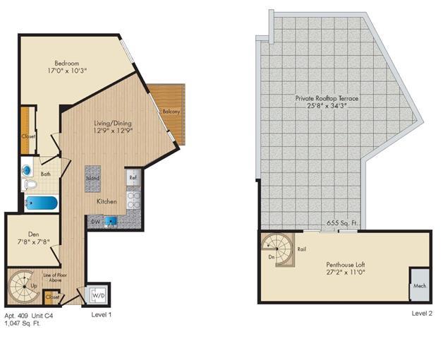 Dc washington allegro p0238305 stylec4penthouse 2 floorplan