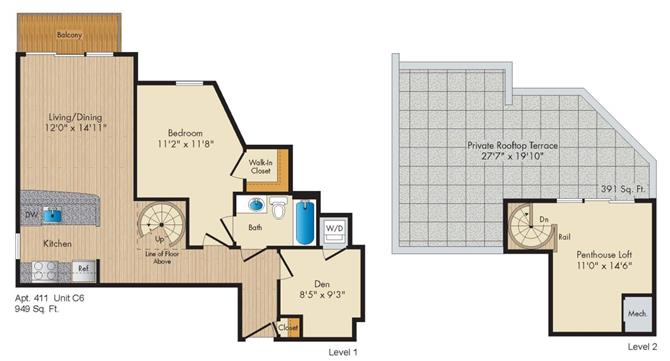 Dc washington allegro p0238305 stylec6penthouse 2 floorplan