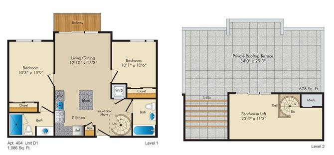 Dc washington allegro p0238305 styled1penthouse 2 floorplan