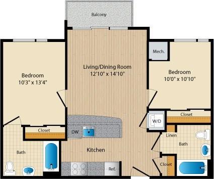 Dc washington allegro p0238305 styled1 2 floorplan