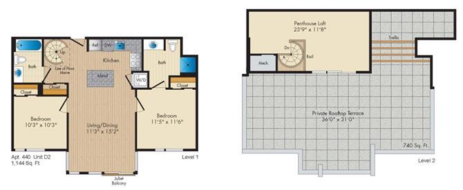 Dc washington allegro p0238305 styled2penthouse 2 floorplan
