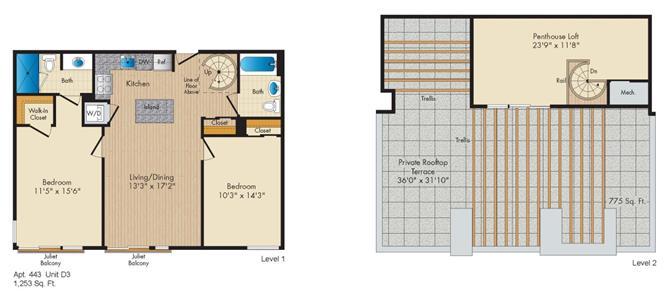 Dc washington allegro p0238305 styled3penthouse 2 floorplan