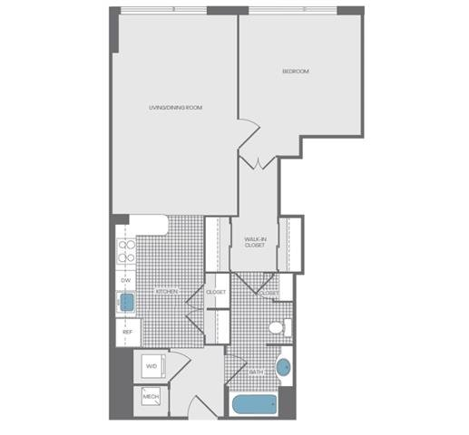 floorplan image of 1105