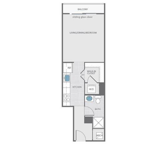 Dc washington newseumresidences p0238310 studio1bath440 2 floorplan