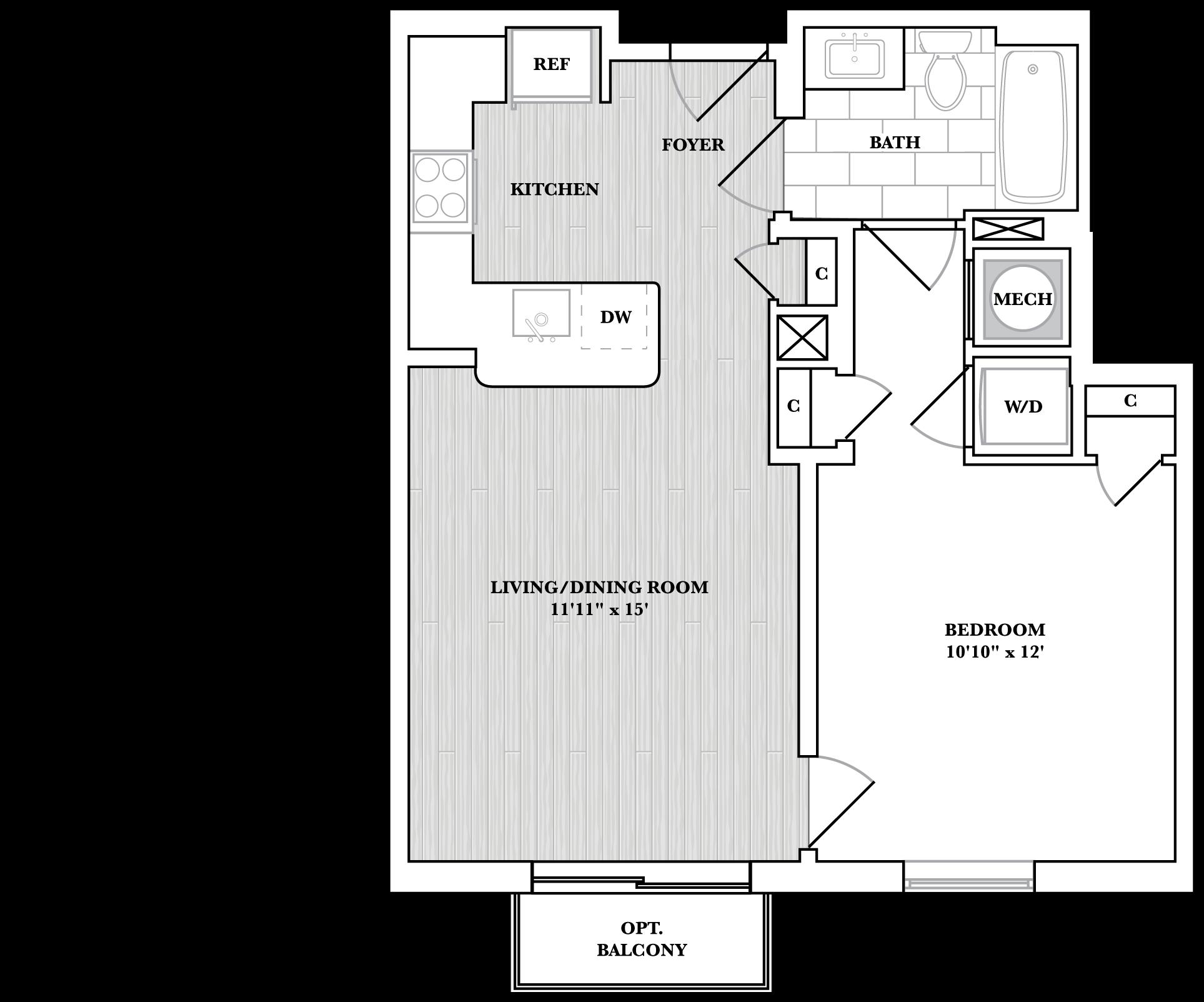 floorplan image of N406