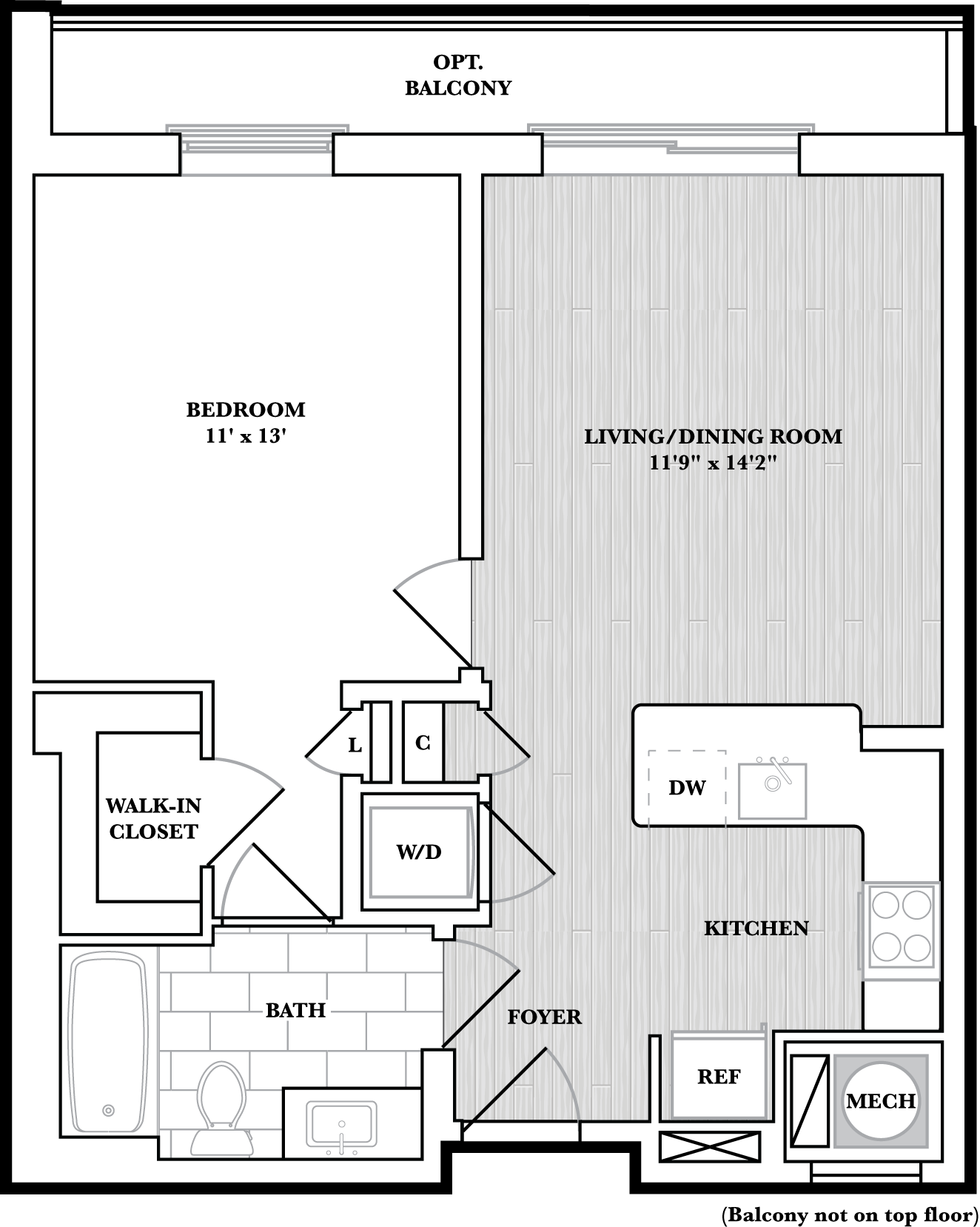 floorplan image of N505