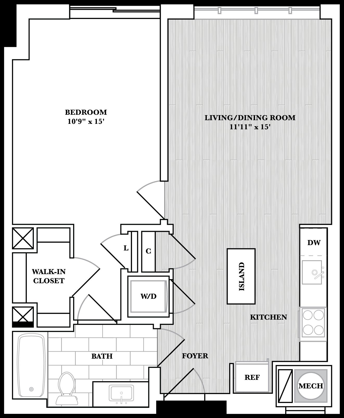 floorplan image of N324