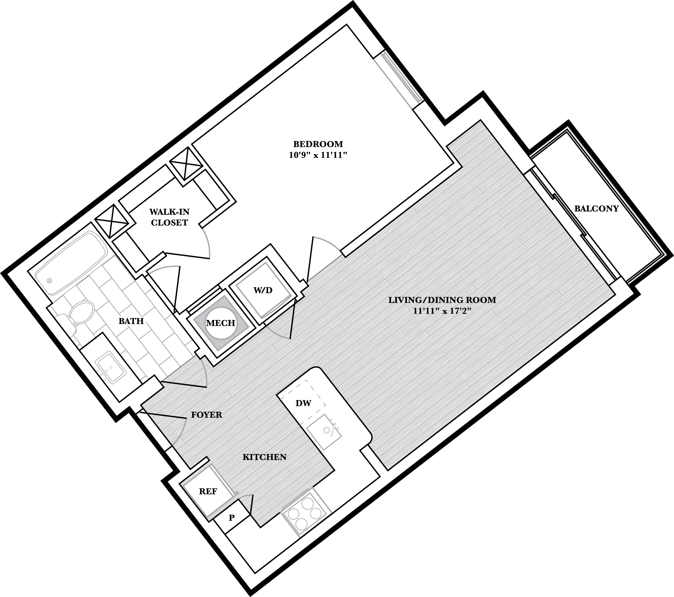 floorplan image of N409