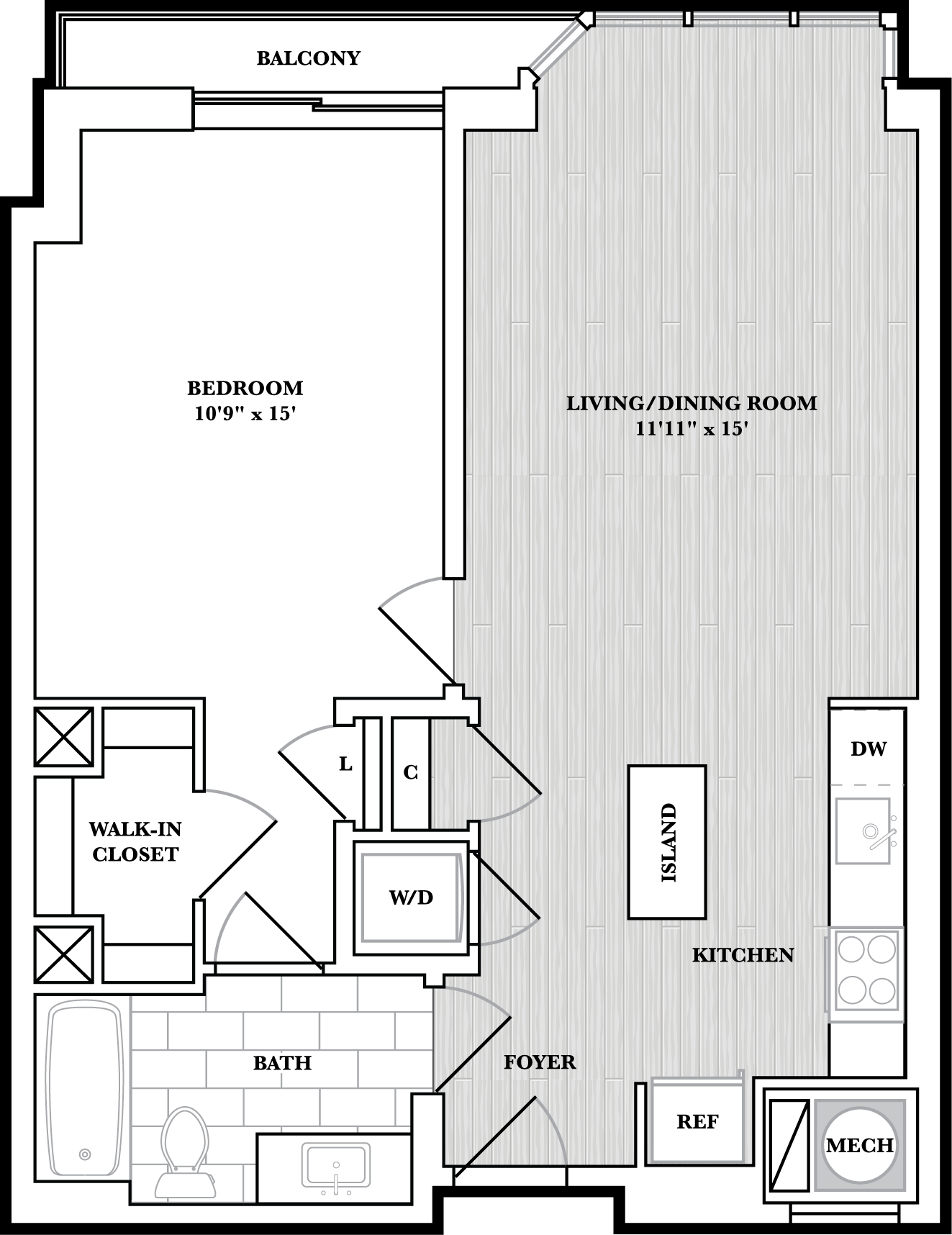 floorplan image of N424