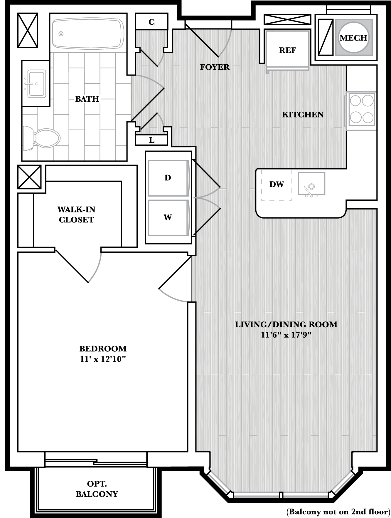 floorplan image of N304
