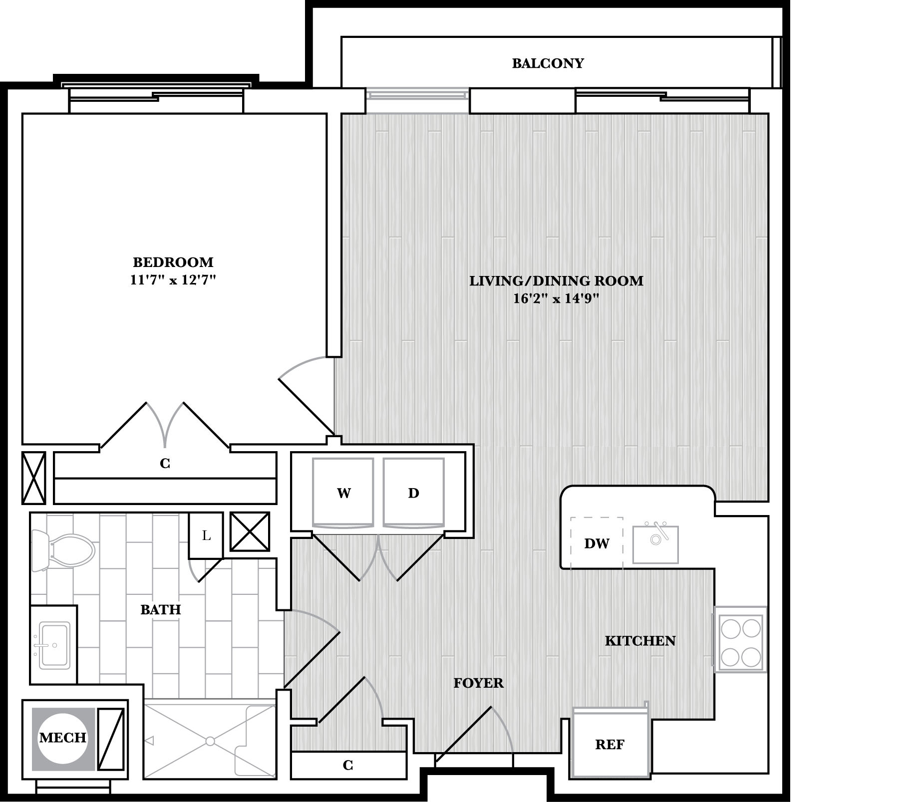 floorplan image of N507