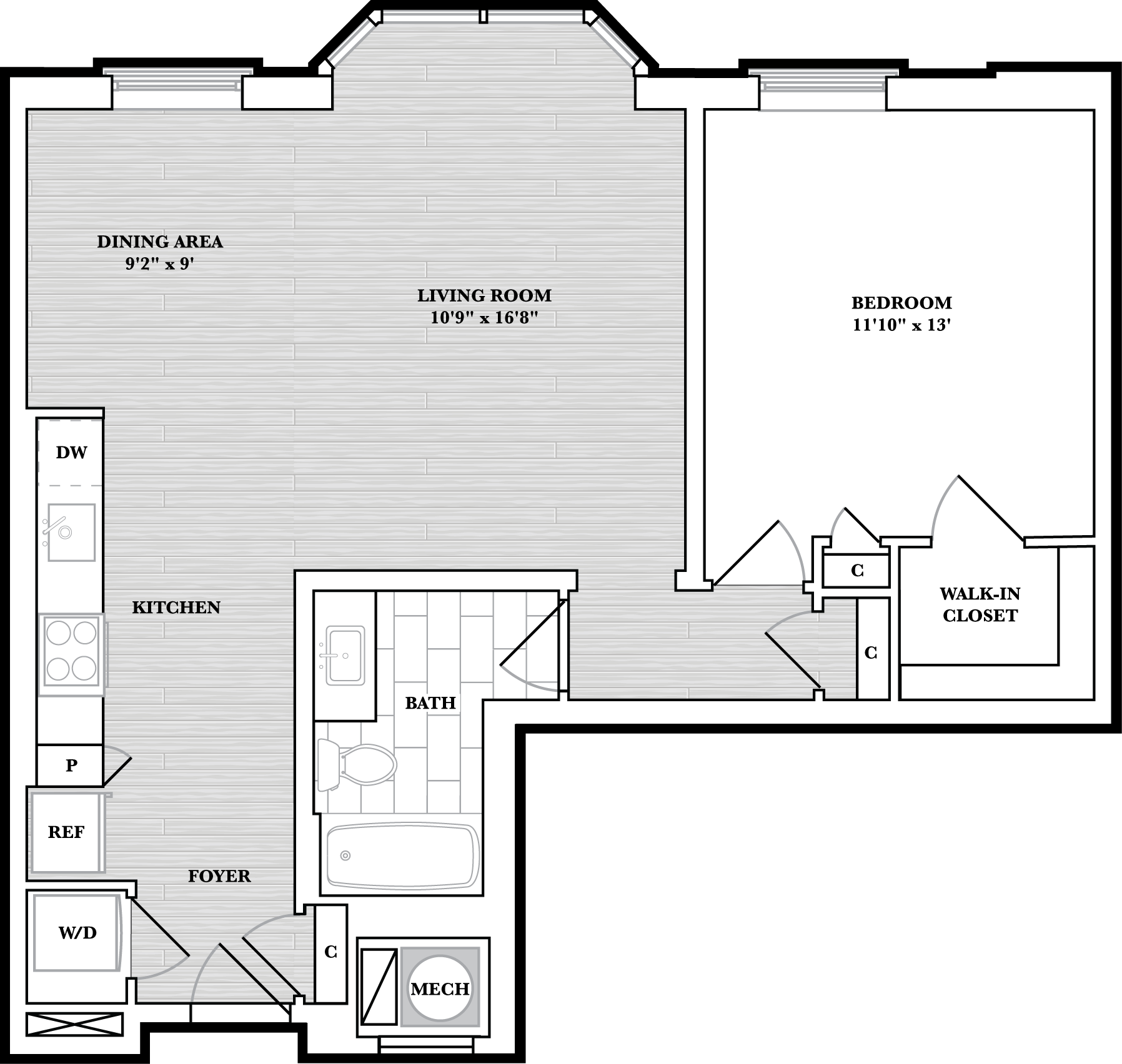 floorplan image of N303
