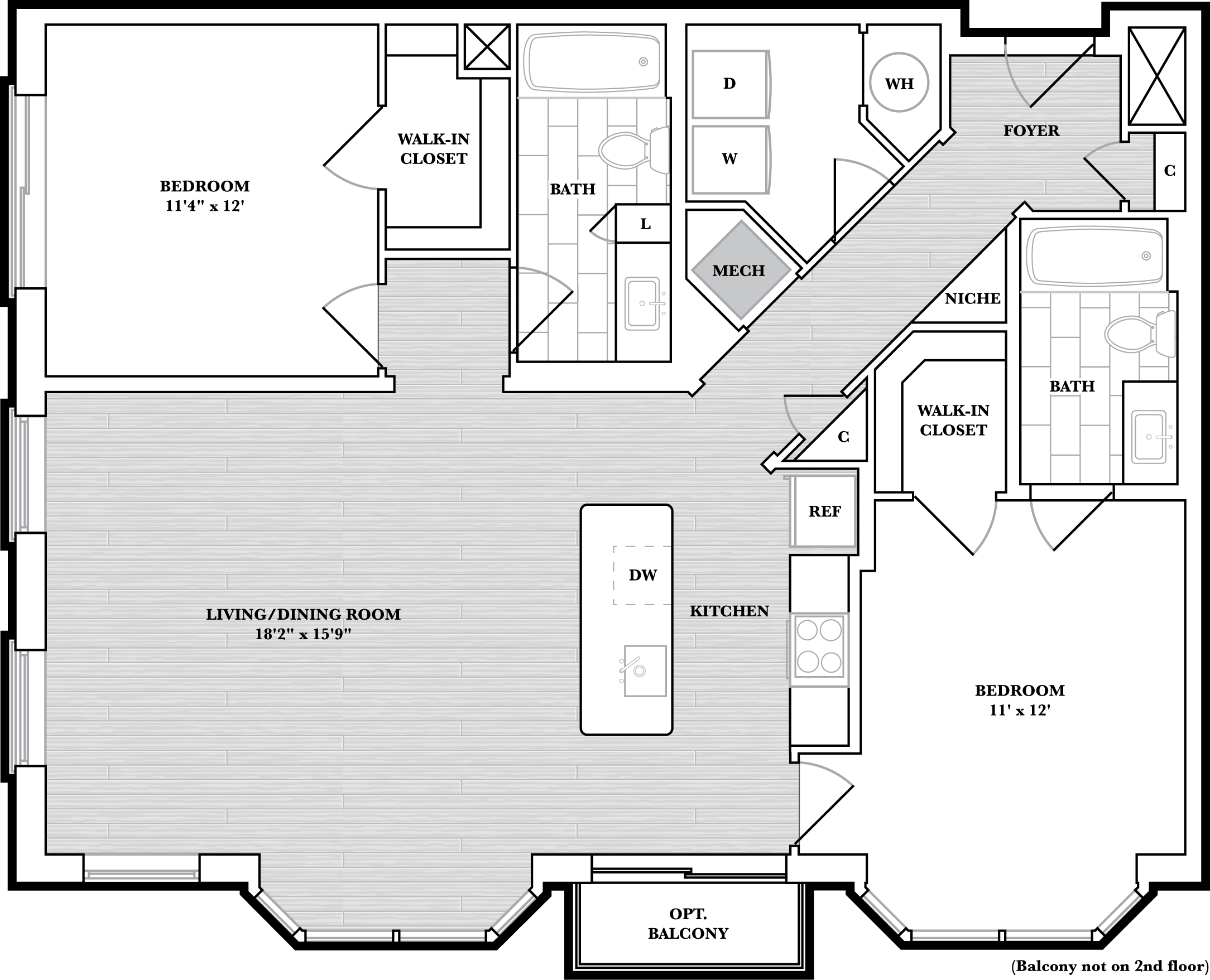 floorplan image of N502