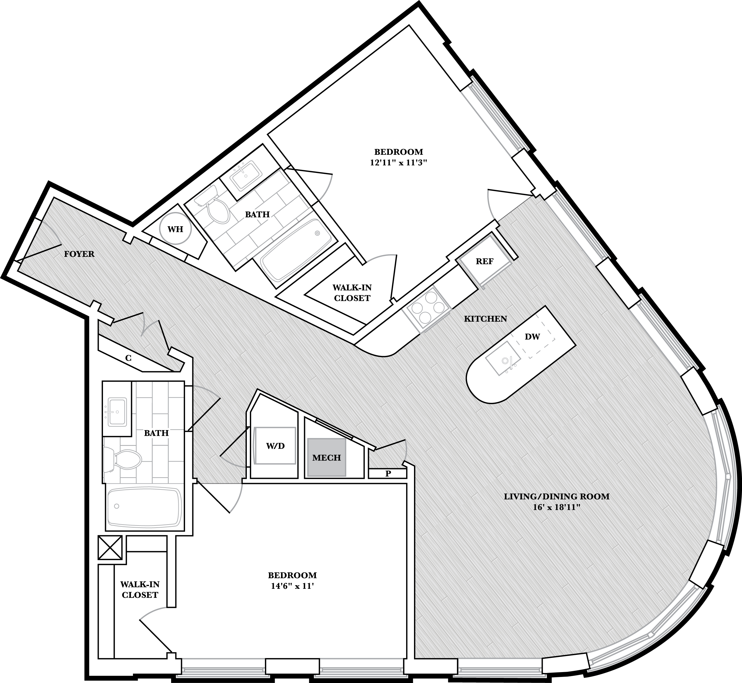 floorplan image of N213