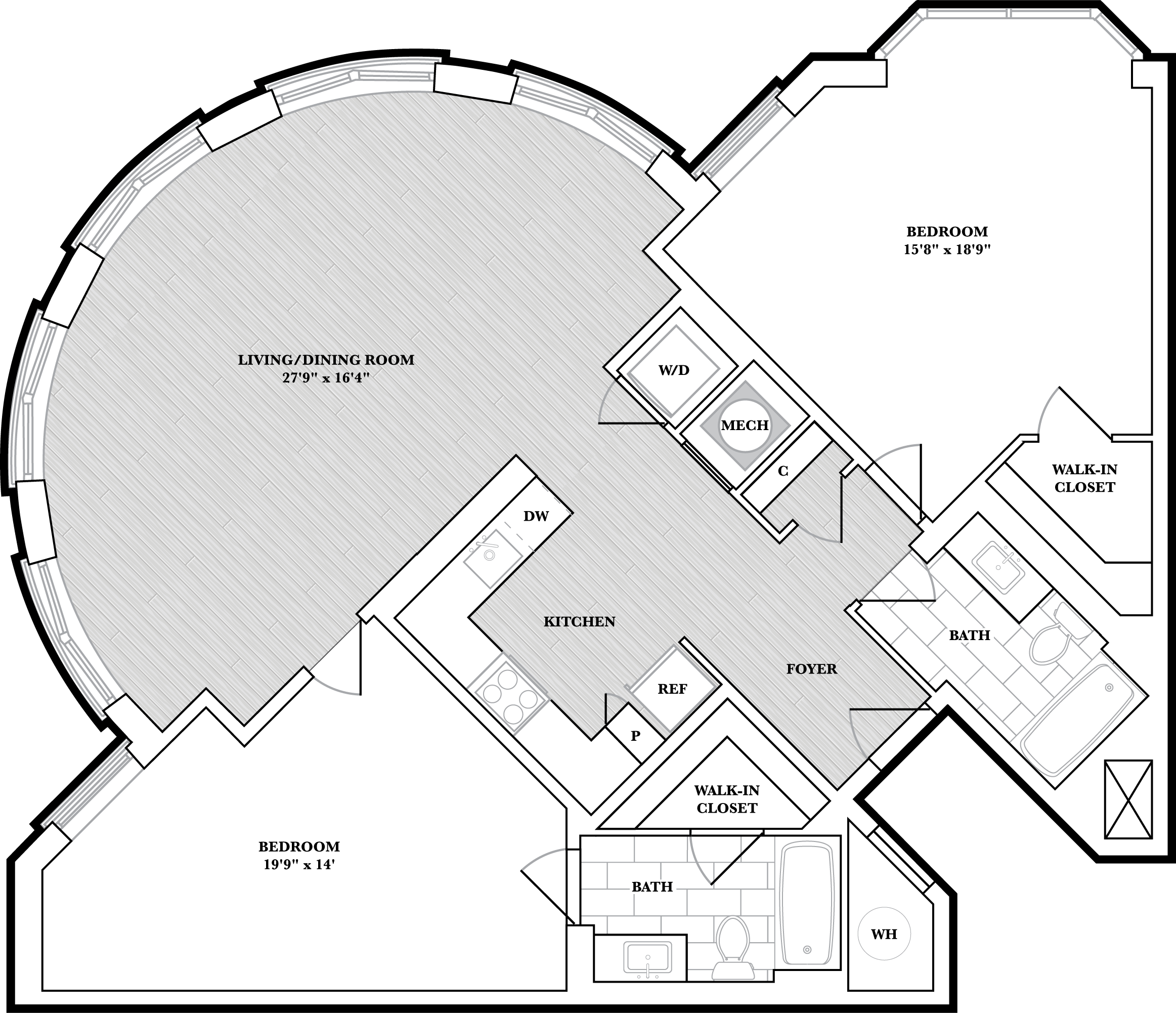 floorplan image of N301