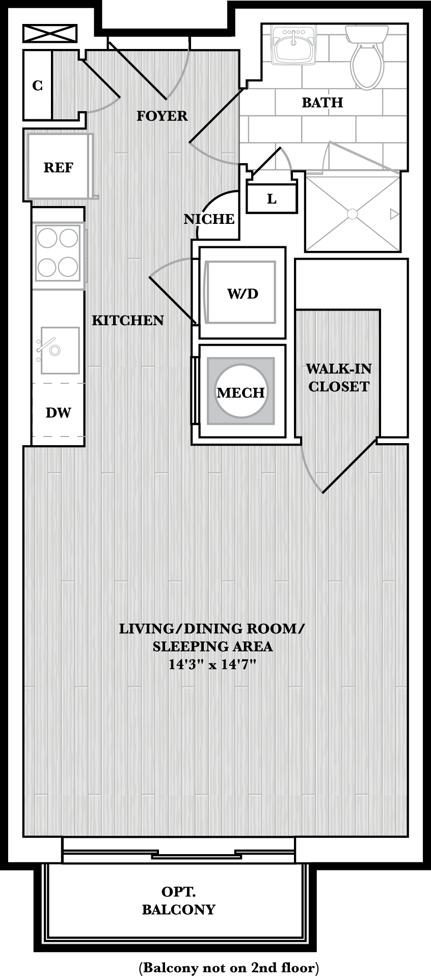 floorplan image of N415