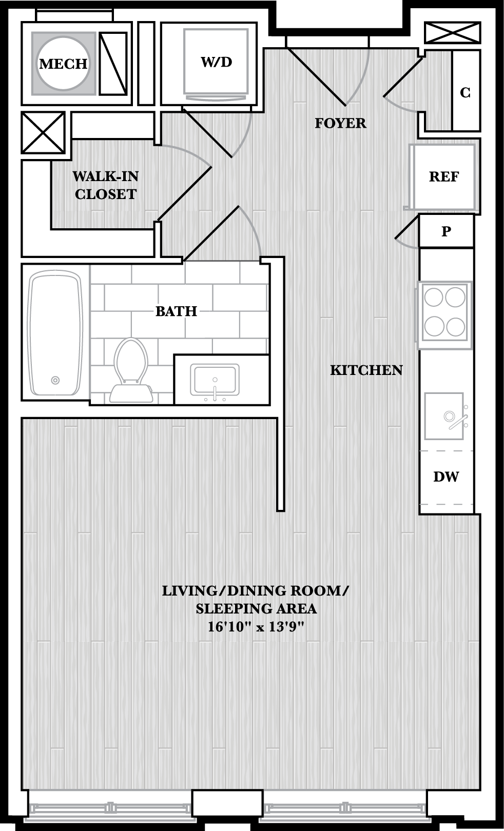 floorplan image of N327