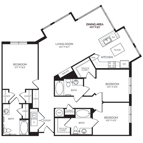 floorplan image of 424