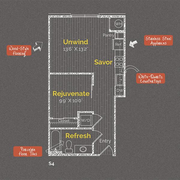 plan view 418