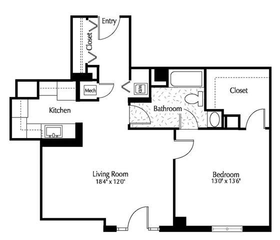 Dc washington thelexingtonatmarketsquare p0245090 1b1b774sf 2 floorplan