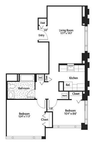 Dc washington thelexingtonatmarketsquare p0245090 1b1bden754sf 2 floorplan