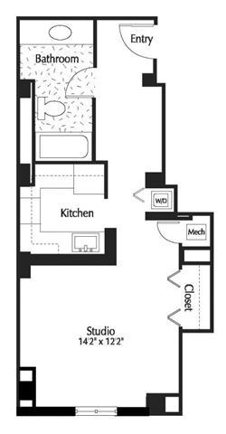 Dc washington thelexingtonatmarketsquare p0245090 studio525sf 2 floorplan