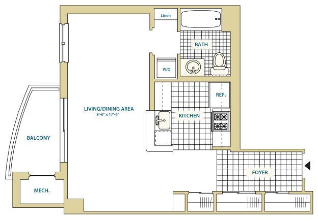 Va arlington instratapentagoncity p0247408 stylea1a570sf 2 floorplan