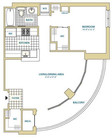 Va arlington instratapentagoncity p0247408 styleb1a665sf 2 floorplan